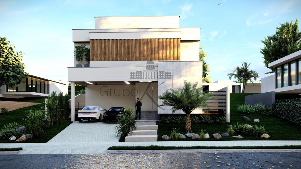 Sao Jose dos Campos casa em construcao condominio Venda R$3.100.000,00 Condominio R$550,00 4 Dormitorios 4 Suites Area do terreno 480.00m2 Area construida 373.85m2