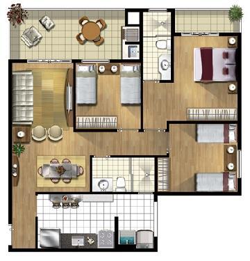 Alugar Apartamento / Padrão em São José dos Campos R$ 2.750,00 - Foto 23