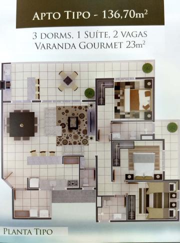 Caraguatatuba Praia das Palmeiras Apartamento Venda R$865.000,00 Condominio R$500,00 3 Dormitorios 2 Vagas Area construida 136.70m2